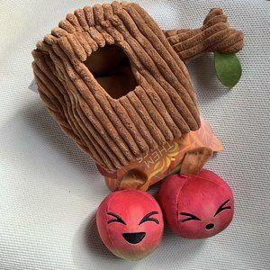 Bark Box Them Apples Dog Toy 3 Piece Medium Large